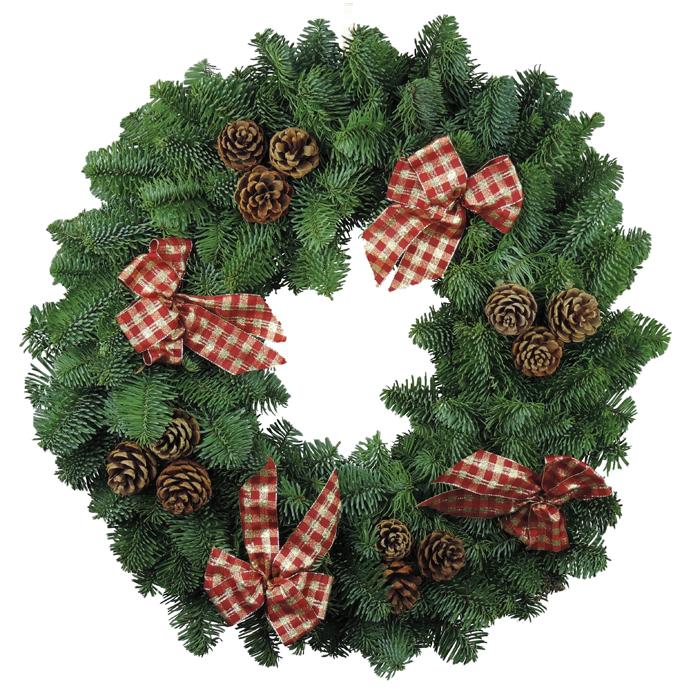 Highlander Christmas Wreaths