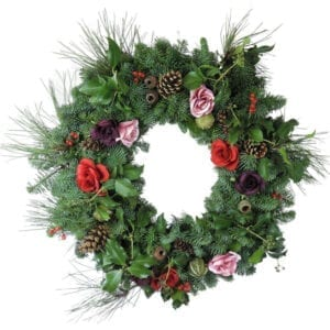 Christmas Rose Wreaths
