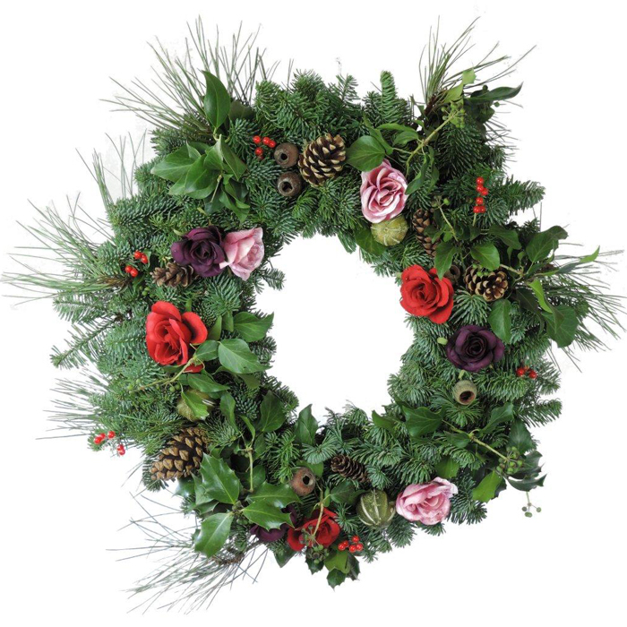 Christmas Rose Wreaths