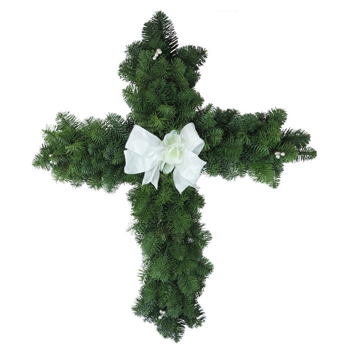 Decorated Christmas Cross