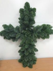 Plain Christmas Cross