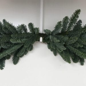 Plain Christmas Mantle