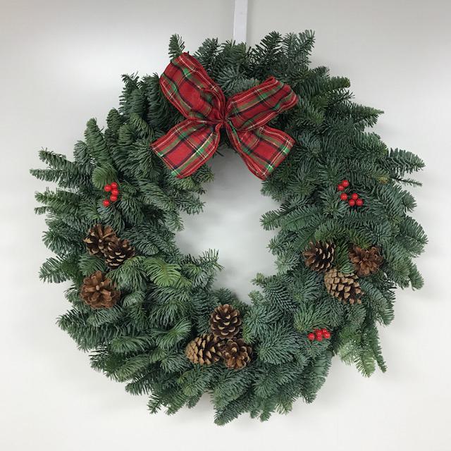Classic Tartan Christmas Wreaths