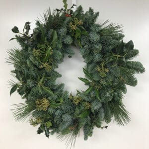 Four Foliage Wreaths