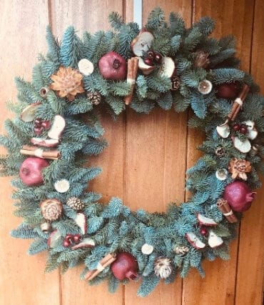 Winter Spice Wreaths